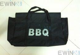 сумка для кемпинга bbq Скидка Portablegood и высокое качество открытый кемпинг шеф-повар Барбекю гриль для хранения Сумка чехол Box держатель 2 шт.