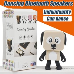 Wholesale Mini Music Center - Dance Bluetooth Speaker Smart Mini Wireless Speakers Charge For Mobile Phone PC Music Speaker Wholesale Individuality High Quality