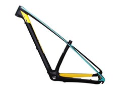 "Wholesale Mtb Frame Full - 2015 wholesale price brand new full carbon mtb bicycle frameset with headset,27.5er&29er mountain bike frames size 15"" 17"" 4 colors"