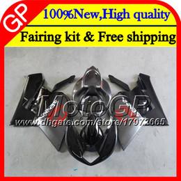 Wholesale Mv Agusta Fairings - Body For MV Agusta F4 05 06 R312 750S 1000 R 05 750 1000CC 13GP12 1000R Grey black 312 1078 1+1 MA MV F4 2005 2006 05 06 Motorcycle Fairing