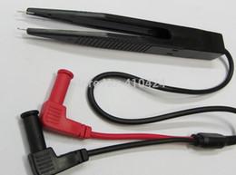 Wholesale Tweezer Probe Multimeter - Multimeter LCR SMD Test Clip Probe Tweezer order<$18no track