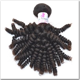 Wholesale Cheap Hair Spirals - Brazilian Spiral Curl Hair Wholesale Cheap Human Hair Extension Brazilian Virgin Hair Spiral Curly 4pcs Wholesale Hair Products