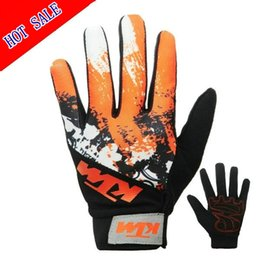 Wholesale ktm gloves - Free shipping motorcycle casual riding gloves nylon bicycle breathable daily gloves KTM motocycle gloves