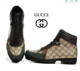Wholesale Men Winter Loafers - 2018 new Autumn Winter Genuine Leather Casual Men Shoes Snow Classic Male Platform Footwear MensSize: EU40-46