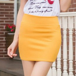 Wholesale Summer Women Working Wear - Sexy High Waist Short Skirt Womens Mini skirt work formal A line Stretch club Package hip wear skrits pencil Casual Skirts for woman Skirt
