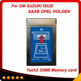 Wholesale 2015 Top Rated MB CARD FOR GM TECH2 kinds software original gm tech2 mb card MB Memory GM Tech Card