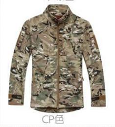 Wholesale Shark Shell Jacket - Men's TAD collar Commander Outdoor Shark skin Soft Shell Jacket Tacitcal Jacket Military Jackets