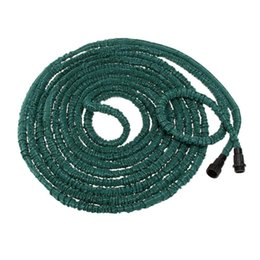 Wholesale Expandable Water Garden Hose - New Brand Anself Dark Green Magic Pipe100FT Flexible Ultralight Expandable Garden Hose Latex Material Watering Hose