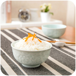 Wholesale Ceramic Bowl Microwave - Wholesale-Vanzlifep creative home Bowl microwave ceramic rice bowl in Longquan celadon noodles Bowl to eat bowls of soup bowls tableware