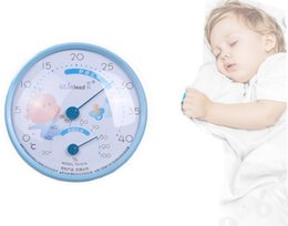 Wholesale Baby Thermometer - New electronic hygrometer indoor home thermometer baby kids room dedicated watch digital indoor