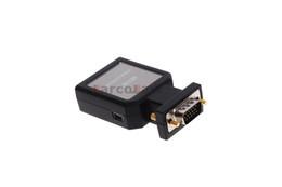 Wholesale Mini Vga Monitors - Mini HD VGA to HDMI + 3.5mm Audio Video Mini Converter Adapter PC Monitor HDTV