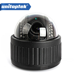 Wholesale Indoor Ptz Dome Ip Camera - Wireless Speed Dome PTZ IP Camera Wifi HD 1080P 960P Auto Focus 4XZoom 2.8-12mm Indoor Audio SD Card IR Onvif P2P APP
