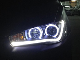 Lancier phares en Ligne-High Quality & Brand-New Mitsubishi Lancer Ex 2010-2013' Led Headlight Led Head Lamp With Double Lens For Sale