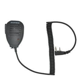 microfone falante walkie talkie Desconto Atacado-Baofeng Handheld Microfone Speaker MIC para walkie-talkie UV-5R Portátil em dois sentidos rádio Pofung UV 5RE Mais UV-B5 BF-888S UV-82
