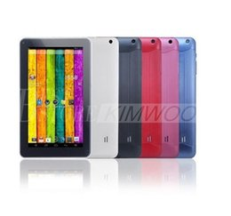 Wholesale Spanish Flash - Quad Core 9 inch A33 Tablet PC with Bluetooth flash 1GB RAM 8GB ROM Allwinner A33 Andriod 4.4 1.5Ghz US01