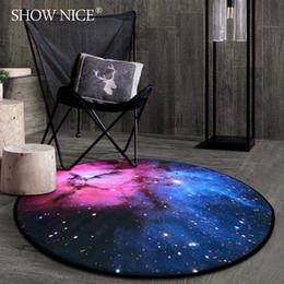 Wholesale Circular Carpet - Scandinavian creative fashion circular carpet bedroom coffee table mat living room bedside room basket basket blanket computer chair blanket