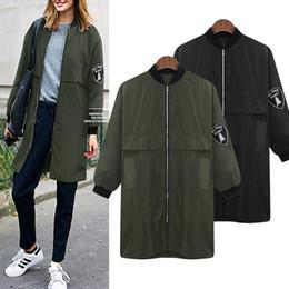 Deutschland Großhandels- 2017 neue Mode Frauen Graben lose Windbreaker Outwear Herbst Harajuku Mantel lange Vintage Korea Stil mit Liner Plus Größe 5XL Versorgung