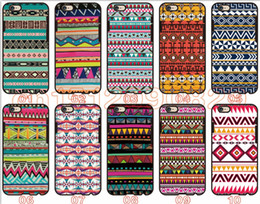 Wholesale Tribal Tribe Case - Aztec Tribal Tribe Pattern For iPhone 6 6S 7 Plus SE 5 5S 5C 4S iPod Touch 5 For Samsung Galaxy S6 Edge S5 S4 S3 mini Note 5 4 3 phone cases