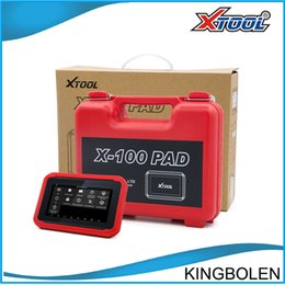 Wholesale Auto Mileage Correction Tools - Original XTOOL X100 PAD Same as X300 Plus Auto Key Programmer Update Online Odometer correction x-100 Pad pro with EEprom DHL free shipping
