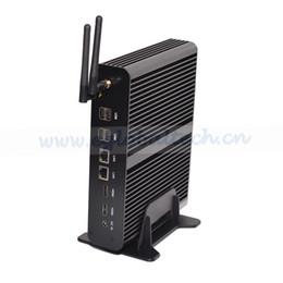 Wholesale Fanless Mini Pc Hdmi - Fanless Wifi Mini PC Intel Core i7-4500U Intel HD Graphics 4400 210*175*45MM 2*HDMI , Wins 7 Wins 8 Wins10