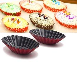Wholesale Mini Pies - Wholesale- 12-picec Fluted Design Oval Shape Tart Mold   Tartlet Tins   Mini Pie pan. Cake mold