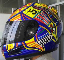 Wholesale Full Face Motorcycle Helmet Dot - Hot sale motorcycle Helmet Mens full face professional racing helmet motocicleta capacete DOT Approved AGGCV3