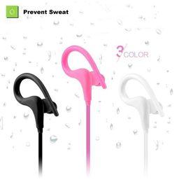 Wholesale Ear Hook Computer Earphone - 20pcs Sport wireless Bluetooth 4.1 headphones earphone headset,in ear auriculares bluetooth for outdoor Sports phones computers