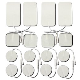 Wholesale Wholesale Gel Packs - Replacement Electrode Gel Pads and for Flextone Pads. Small & Large Size Combo 16-Pack, adhesive electrodes for TENS   EMS   electrotherapy