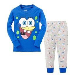 Wholesale Kit Girl Autumn - Spring style children's underwear kit boy's home in the clothes of the girl in pajamas two pieces