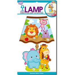 Wholesale Light Wall Sticker Switch Decoration - Toy figures Wall Sconces Led bedroom lighting For Kids Night Lights Party Home DecoratioN Sticker Lamp Cartoon Animals Wall Lamp