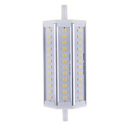 rondella a parete che cambia colore Sconti 1 PZ / LOTTO 36 LED Risparmio energetico LED R7S Bianco / Bianco caldo Illuminazione a LED R7S 12W 5630 SMD Lampadina per sostituire proiettore alogeno 100-240 V