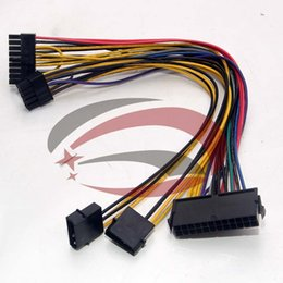 Wholesale Motherboards For Hp - Wholesale price ATX 24P + IDE 4P Molex to 18P + 10P Converter Power Lead Cable Cord for HP Z800 Workstation Motherboard