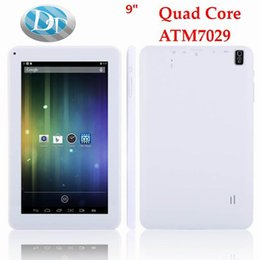 Wholesale Tablet Pink Colour - 9 inch Android 4.4 Quad Core ATM 7029 A33 Q88 Tablet PC 8GB ROM OTG with HDMI Dual Camera with Flashlight Tablet PC 5 Colour
