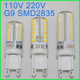 Wholesale G9 Base 5w - G9 LED bulb light 5W 110V 220V G9 Base Candle light Mini Corn Droplight Replace 60W Halogen Lamp SMD 2835 for chadelier