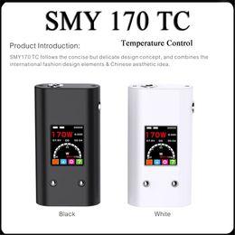Wholesale Mechanical Control - Original 100% SMY 170w Vaporizer Mod SMY 170 TC Box Mod Temp Control Box Mod Smy 170 TC Mechanical Mods Free DHL