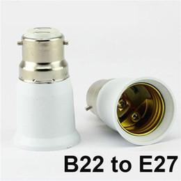 Wholesale E14 Extend - LED Bulb Base Adapter Socket Converter E22 to E27 E26 to E14 E26 to E27 B22 to E26 Converter Plug Extend for LED Halogen CFL Light