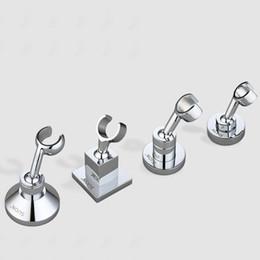 Wholesale Adjustable Wall Brackets - Wholesale- Wall mounted solid Brass bracket Chrome Adjustable angle shower holder