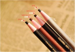 lápiz corrector impermeable Rebajas Envío gratis 4 colores mix Pull Lápices de cejas a prueba de agua lápiz de cejas fácil de color lápices de cejas herramientas de belleza