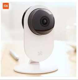 Wholesale 1pcs Ip - Original Xiaomi Smart CCTV Camera Small Ants Smart Webcam IP Wireless Wifi Camcorder Built-in Microphone Xiaomi yi Camera 1pcs