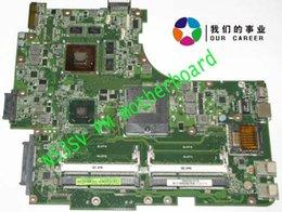 Wholesale N53sv Motherboard - Wholesale-Buy N53SV mainboard for Asus N53SV laptop motherboard system board REV 2.1 with 4 ram slot