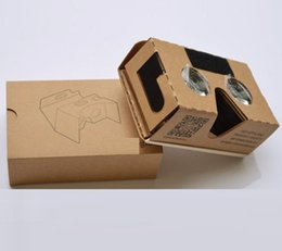 Wholesale Vr Reality - Virtual reality stereo VR glasses box gift, very so hotsale VERY good QUALITY VRBOX packing box