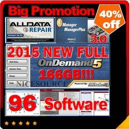 Wholesale New 1tb - big promotion 96in1 1TB HDD new fit win7 win8 Alldata 10.53+2015 Mitchell repair 166GB+VIVID WORKSHOP+tecdoc+elsa+ultramate