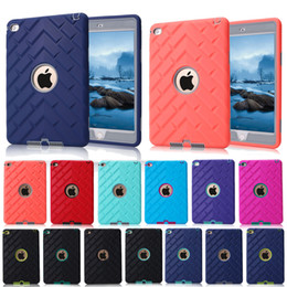 Wholesale Ipad Rubber Skin - For iPad mini 1 2 3 Retina Kids Safe Tyre Texture Outdoors Case Shockproof Heavy Duty Rubber Hard Cover