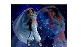 Wholesale Princess Jasmine Costumes For Women - Movie Cosplay Costume Professional Aladdin Jasmine Dress for Party Aladdin Theme Costumes Princess For Womens Kids