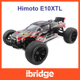 Wholesale Brushless Truggy - Himoto Katana 1:10 Scale Rc Car RTR 4WD Electric Off Road Truggy 2.4G Remote Control Brushless Version Car with Lipo Battery