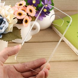 Wholesale Diy Hard Iphone Cases - Ultrathin Clear Plastic Case Transparent Crystal Cases Hard PC DIY bling Back Cover For iphone 6s plus 6 5S 4 5C Samsung S6 edge Note 5 4 3