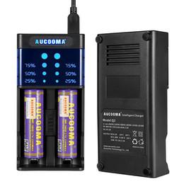 Wholesale Wholesale Li Ion Aa Rechargeable - Universal Battery Charger, LCD Display Speedy Smart Charger for Rechargeable Batteries Ni-MH Ni-Cd AA AAA Li-ion 10440 14500 16340 18650