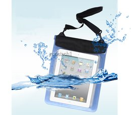 Wholesale Tablet Bag Storage - High Quality Tablet PC Waterproof Bag Case Underwater Waterproof Pouch for iPad and Samsung Tablet PC