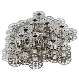 Wholesale Domestic Sewing Machines - 50pcs high quality Metallic Cans Coils for Domestic Sewing Machine freeshipping