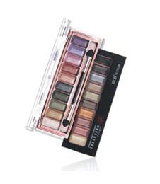 Wholesale Eyes Bobs - New Arrival BOB Makeup Set Genuine Meteor shine Eye Shadow Earth 10Colors Eyeshadow Palette
